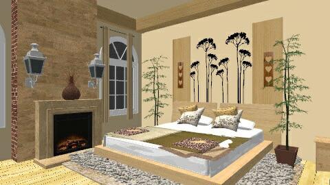 Contemporary - Country - Bedroom - by nicolajerath