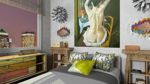 Artists Rest - Eclectic - Bedroom - by nikkisp