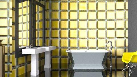 Bath + A Golden Gun - Glamour - Bathroom - by 3rdfloor