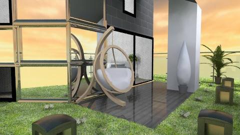 Mirrors house - Modern - Garden - by ATELOIV87