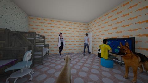 mnl - Kids room - by 10kozdim