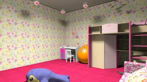 This is my first design - Kids room - by ali shayesteh