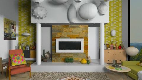 Amiens - Retro - Living room - by camilla_saurus