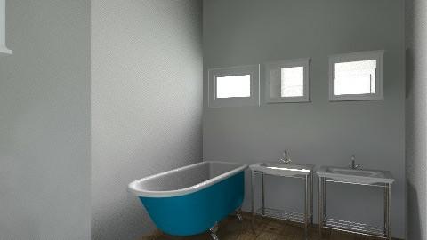 two separate bathrooms - Vintage - Bathroom - by rachellesoles