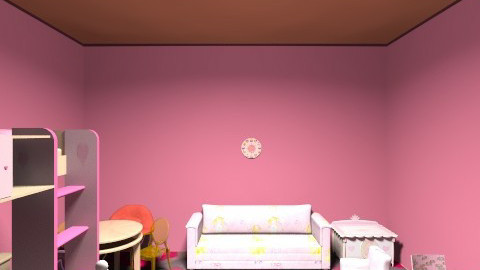 kiddy - Vintage - Kids room - by Rajinie Madurangi