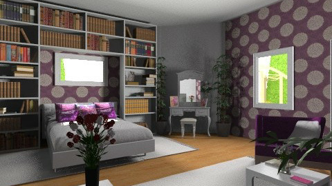 Adi bedroom - Modern - Bedroom - by eszti