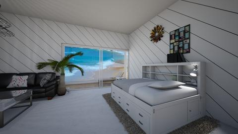 stylish apartment - Modern - Bedroom - by muffinandpeach
