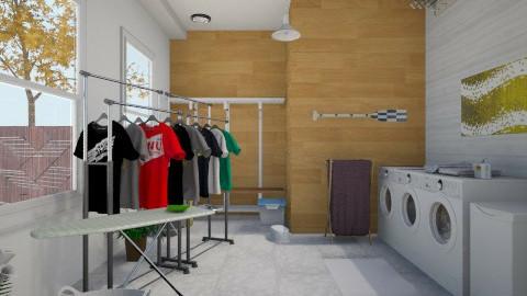 Laundry Room - Classic - Garden - by yourjieee