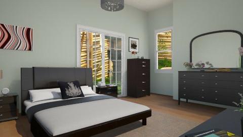 green - Global - Bedroom - by Jen Guerra
