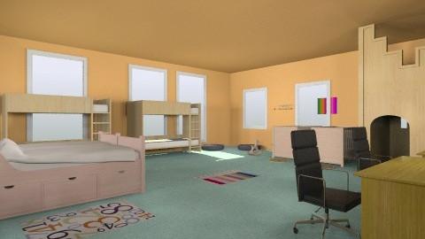 TooManyTwinsRoom - Kids room - by seasideview
