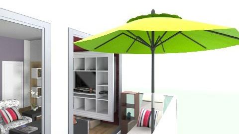 Terraza - Bedroom - by elisamaturana