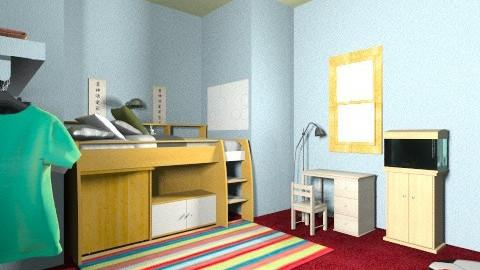 michaels room - Kids room - by Nina Gatta