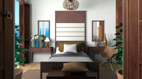 6565 - Glamour - Bedroom - by Ivana J
