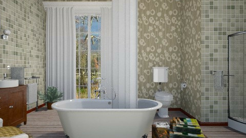 Country Style - Country - Bathroom - by janip
