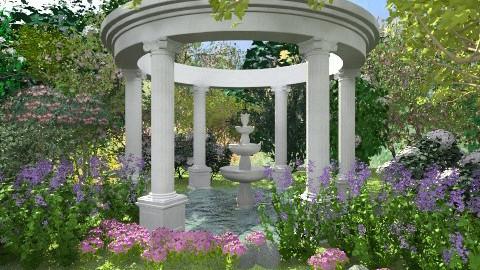 Springtime - Garden - by Baustin