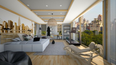 new yorj boy - Modern - Bedroom - by nikolaiR6971