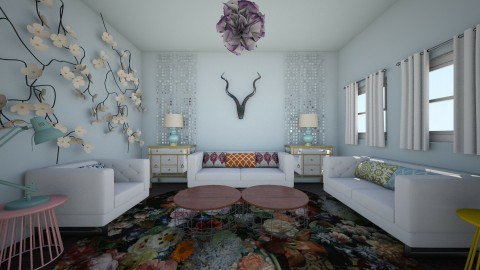 eclectic - Eclectic - Living room - by kiscsitty