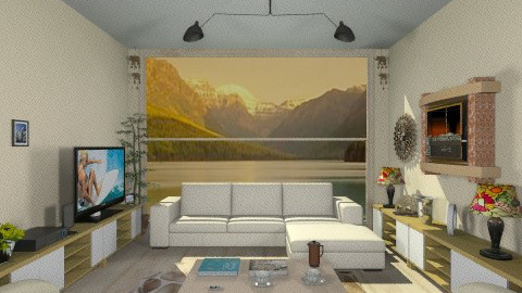 InRivaALago - Country - Living room - by Luisy