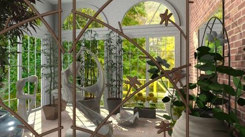 grin inside garden - Modern - Garden - by Stanojkovic