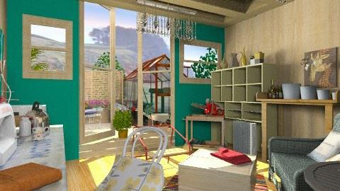 Grandmas shed - Rustic - Garden - by mrschicken
