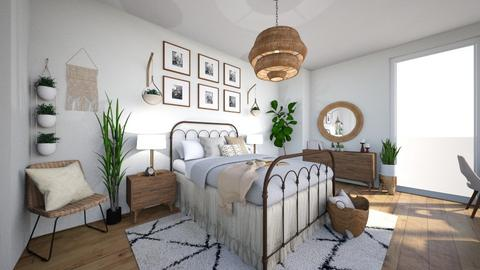 boho - Modern - Bedroom - by Mari Lara_978