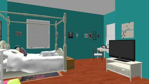 """VERMONT"" - Feminine - Bedroom - by Yana_98"