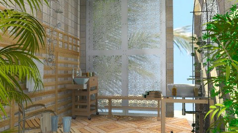 Outdoor Shower - Classic - Garden - by Bibiche