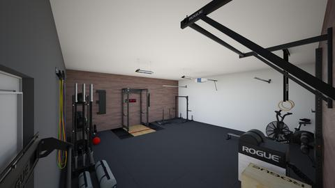Garage Gym first try - by rogue_b653b441e36b279e5c77309de4322