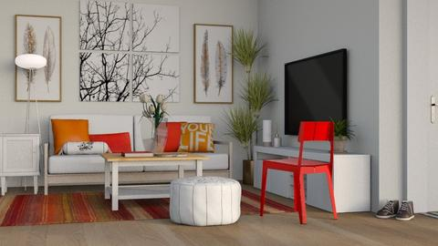 Accent - Modern - Living room - by millerfam
