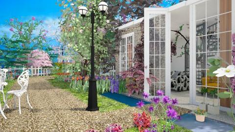 flower waiting spring - Modern - Garden - by lamzoi