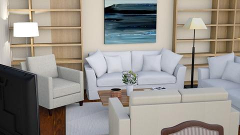 tv cinema - Classic - Living room - by sufi