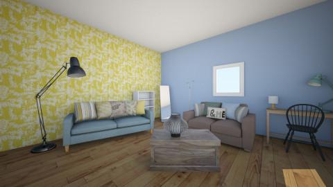 John Lewis Room - Living room - by Katie Kins
