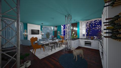spring is coming - Modern - Living room - by lamzoi