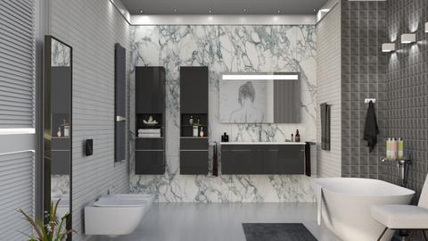 M_ V and BV - Bathroom - by milyca8