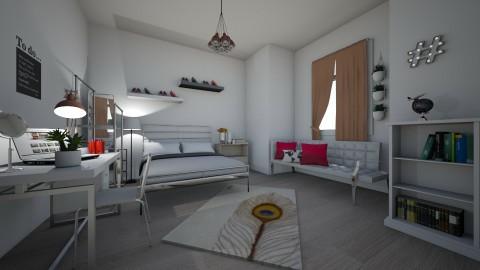 M i n i m a l bedroom - by krisztinaa