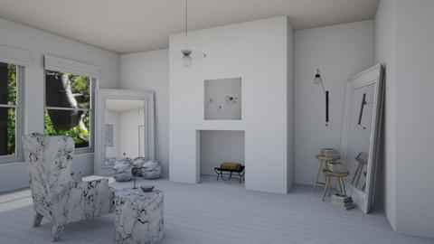 the solitary minimalist - Minimal - Living room - by kitty