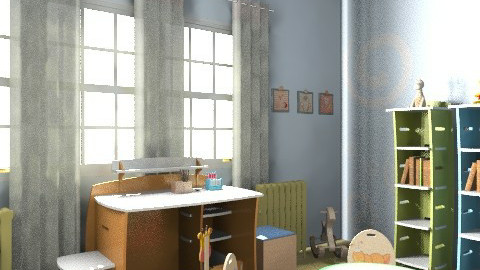 Cili76 gyerekszoba át1c - Classic - Kids room - by Vargn Nagy Ceclia