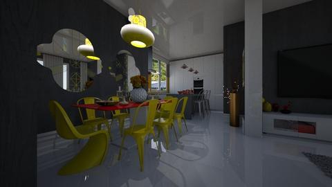 Luna - Living room - by Maria Helena_215