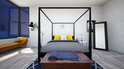 master room - Bedroom - by felicia_fire
