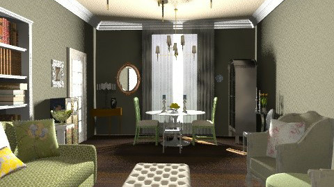 Sitting Room - Vintage - Living room - by PennyDreadful
