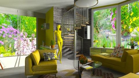 zold - Living room - by Ren707