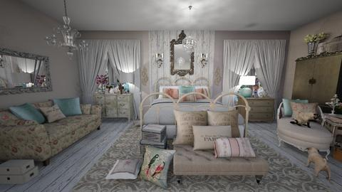 Shabby Chic Bedroom - Vintage - Bedroom - by jjp513
