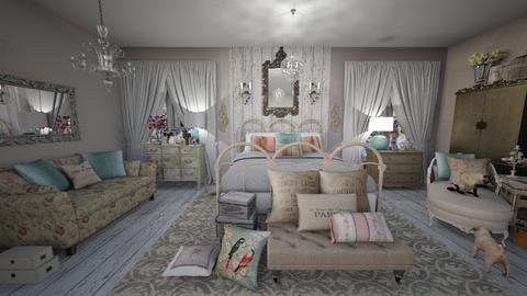Shabby Chic Bedroom - Vintage - Bedroom - by jjp513