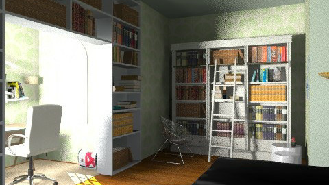Eco Green - Minimal - Bedroom - by july1526