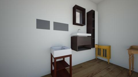 the bathroom - by eleyiokparas1