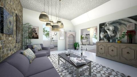 Rooms - Living room - by NATALIAWADRANSKA