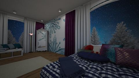 Winter Bedroom 2 - by NaKo