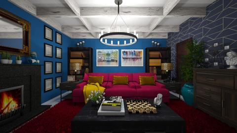 Maximalist Living - Living room - by kristenaK