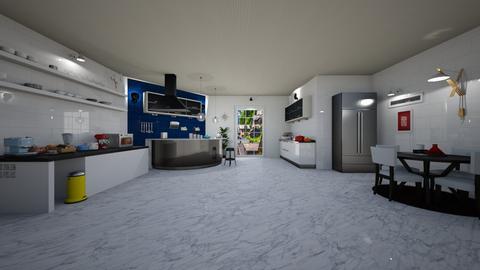 scandinavian kitchen - by Spencer Reid