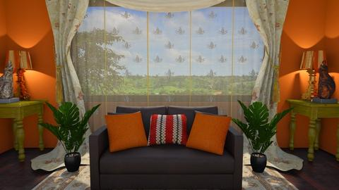 Igbo inspired - Living room - by CCPompey